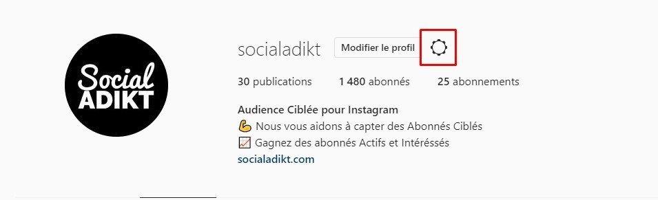 mettre son compte instagram en privé