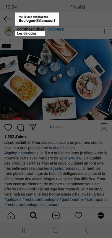 calcul taux d'engagement instagram