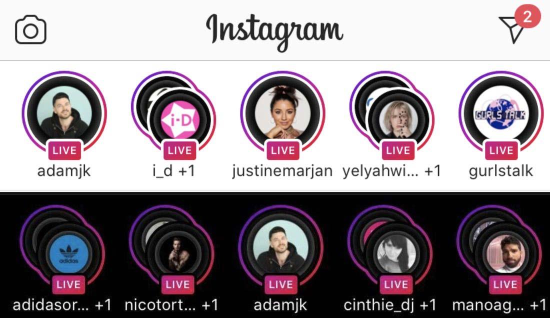 instagram live socialadikt
