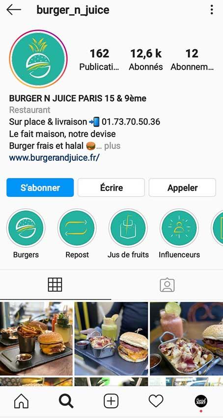 photographie profil instagram