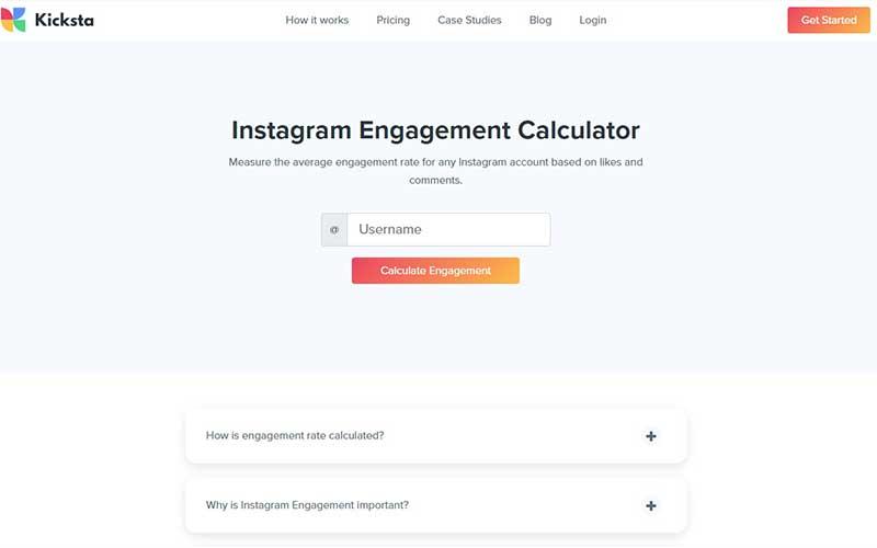 taux d'engagement instagram moyen
